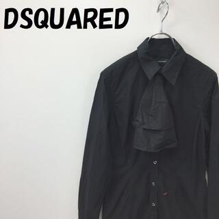 ディースクエアード(DSQUARED2)のディースクエアード ボウタイ付き 長袖シャツ イタリア製 サイズ40 レディース(シャツ/ブラウス(長袖/七分))
