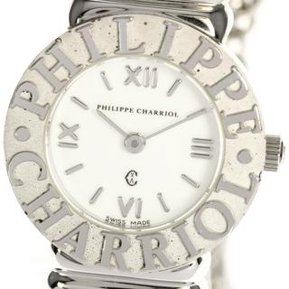 シャリオール(CHARRIOL)のシャリオール サントロペ   クォーツ レディース 【中古】(腕時計)