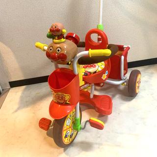 アンパンマン(アンパンマン)の送料込❗️三輪車☆アンパンマン号ピース2 レッド(三輪車)