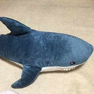 イケア(IKEA)のイケア サメ 100cm  大人気(ぬいぐるみ)