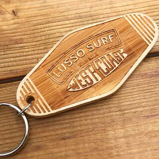 QUIKSILVER - 車や家の鍵に☆LUSSO SURF モーテルキーホルダー wood
