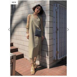 アメリヴィンテージ(Ameri VINTAGE)のチュールドッキングドレス ameri vintage(ロングドレス)