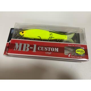 ティムコ(Tiemco)のティムコ×ルアーマガジン MB-1カスタム175F LMマットチャート(ルアー用品)