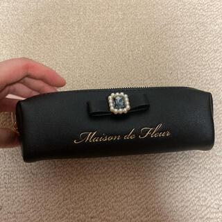 メゾンドフルール(Maison de FLEUR)のメゾンドフルール   ペンケース ブラック(ペンケース/筆箱)