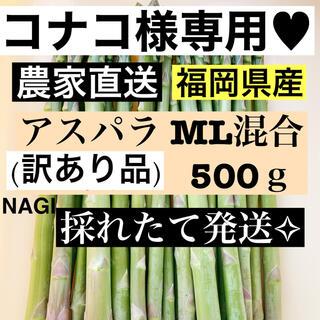 コナコ様専用♥アスパラ MLサイズ(訳あり品)(野菜)