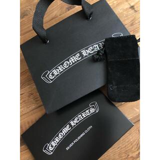 クロムハーツ(Chrome Hearts)のクロムハーツ シルバークロス、紙袋(訳あり)、巾着(ショップ袋)