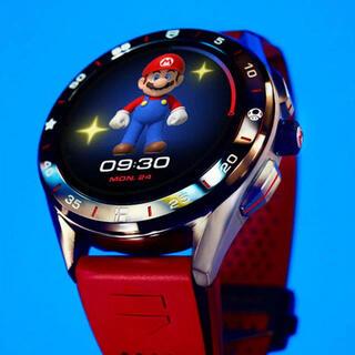タグホイヤー(TAG Heuer)のタグ・ホイヤー コネクテッド×スーパーマリオ リミテッドエディション (腕時計(デジタル))