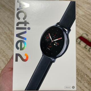 ギャラクシー(Galaxy)のGALAXY Watch Active 2 Stainless Black(腕時計(デジタル))