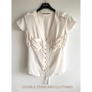 ダブルスタンダードクロージング(DOUBLE STANDARD CLOTHING)のdouble standardシャツ(Tシャツ(半袖/袖なし))