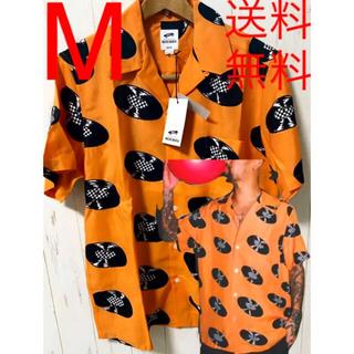 ワコマリア(WACKO MARIA)の【M】ワコマリア×vans ハワイアンシャツ レコード オレンジ(シャツ)