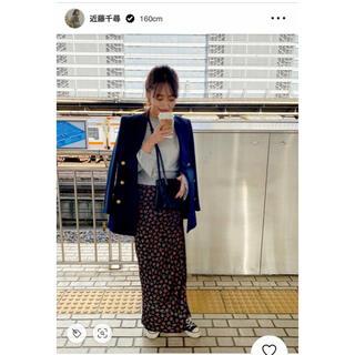 シンゾーン(Shinzone)のシンゾーン 花柄 ロング マキシ スカート (ロングスカート)