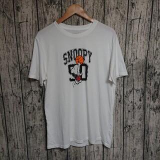 スヌーピー(SNOOPY)のSNOOPYバスケットボールプリントTシャツLLスヌーピー(Tシャツ/カットソー(半袖/袖なし))