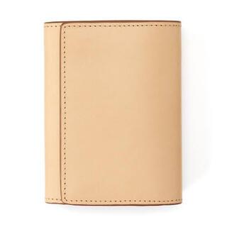 ムジルシリョウヒン(MUJI (無印良品))のMUJI イタリア産ヌメ革は三つ折り財布(折り財布)