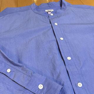 Scye - SCYE プルオーバーバンドカラーシャツ サイズ38 フレンチブルー
