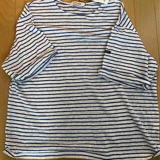 ディーホリック(dholic)のnugu ボーダーTシャツ(Tシャツ/カットソー(半袖/袖なし))