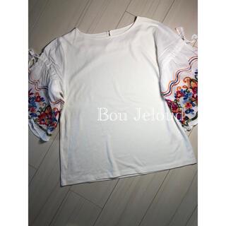 ブージュルード(Bou Jeloud)のBou Jeloud 5分袖トップス(Tシャツ(半袖/袖なし))