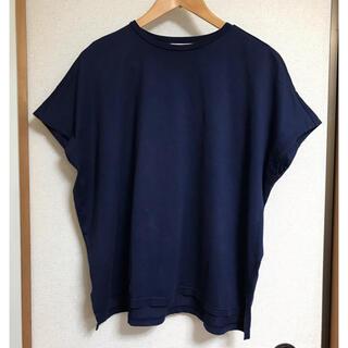 エンフォルド(ENFOLD)のENFOLD スビン天竺スリットボックスTシャツ☆(Tシャツ(半袖/袖なし))