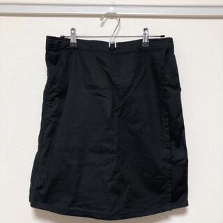 ウォークマン(WALKMAN)のワークマンプラス レディース 綿 トレッキングラップショーツ 黒(ショートパンツ)