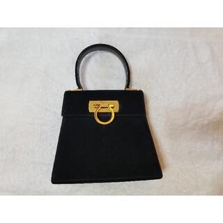 フェラガモ(Ferragamo)のフェラガモ ガンチーニ スウェード素材 ハンドバッグ(ハンドバッグ)