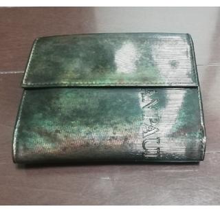 ジャンポールゴルチエ(Jean-Paul GAULTIER)のJeanpaul GAULTIER 二つ折り財布(折り財布)