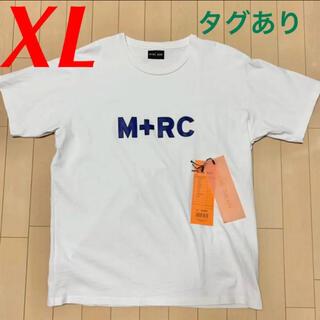 ノワール(NOIR)のM+RC NOIR Logo Tシャツ ロゴ マルシェノア マルシェ ロゴT(Tシャツ/カットソー(半袖/袖なし))