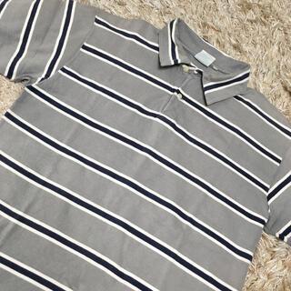 アヴィレックス(AVIREX)のAVIREXアビレックス メンズボーダーポロ(ポロシャツ)