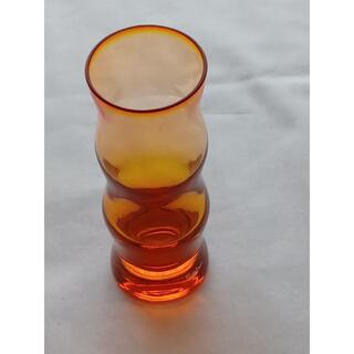 スガハラ(Sghr)の【新品未使用】sghr SUGAHARA フラワーベース 花瓶 オレンジ(花瓶)
