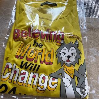 ジャニーズ(Johnny's)の24時間テレビ 2021 チャリTシャツ 黄色 M 未着用(Tシャツ(半袖/袖なし))