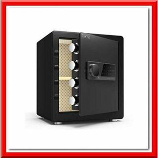 金庫 40cm(43L) 緊急キー テンキー式 振動警報 アンカーボルト付き(その他)