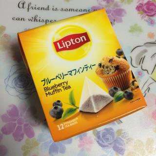 未開封☆リプトン ブルーベリーマフィンティー (茶)