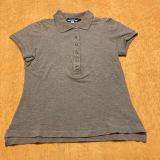 バーバリーブルーレーベル(BURBERRY BLUE LABEL)の【美品】バーバリーブルーレーベルポロシャツ レディース38(ポロシャツ)
