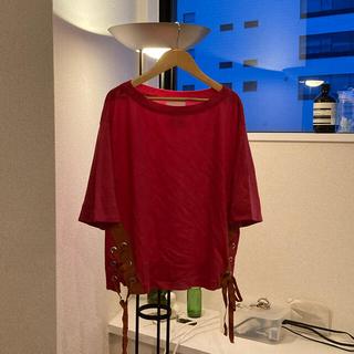 エンフォルド(ENFOLD)のエレンディーク ビビッドカラーデザインTシャツ(Tシャツ(半袖/袖なし))