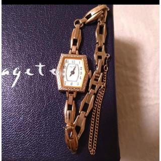 アガット(agete)の値下げ不可 agete アガット 腕時計(腕時計)