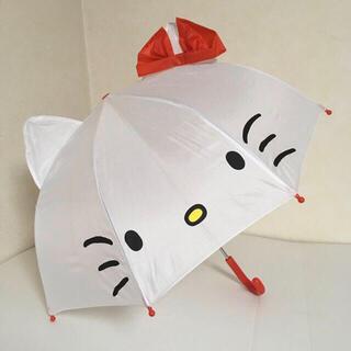 サンリオ - 即購入OK!新品未使用タグ付き★キッズ サンリオ ハローキティ 耳付 傘