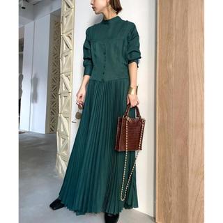 アメリヴィンテージ(Ameri VINTAGE)のAMERI SHAPELY CORSET DRESS(ロングワンピース/マキシワンピース)