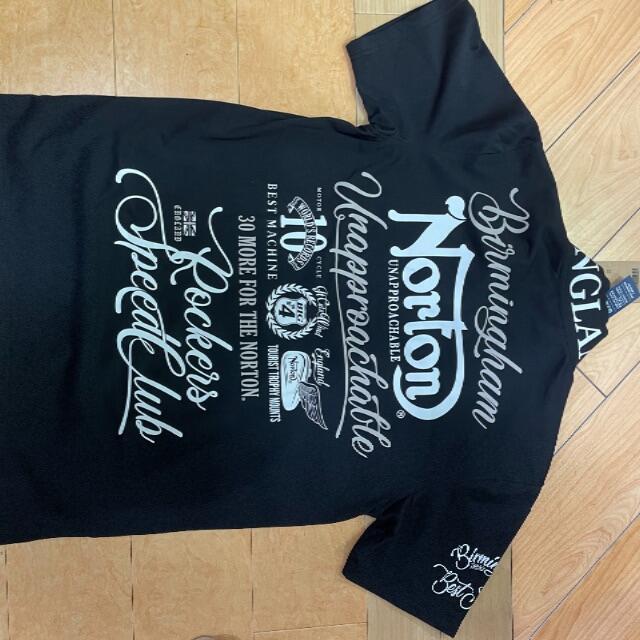 Norton(ノートン)のNORTON 半袖 ポロシャツ 黒 XXL メンズのトップス(ポロシャツ)の商品写真