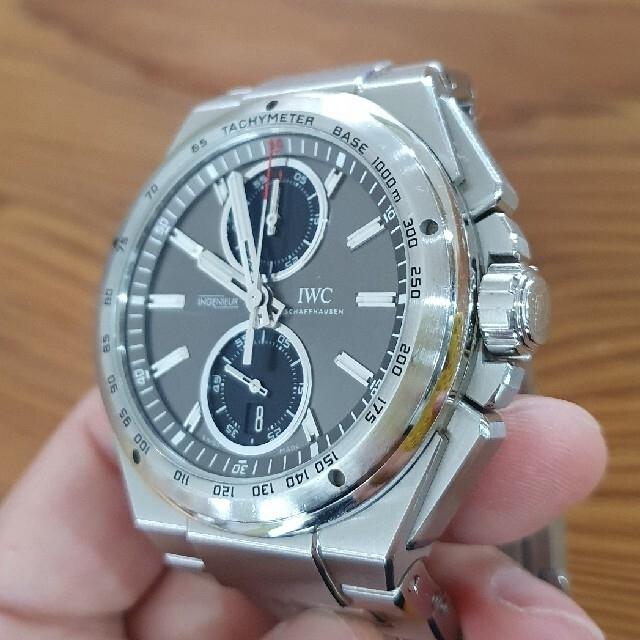 IWC(インターナショナルウォッチカンパニー)のIwc インヂュニア クロノグラフレーサー メンズの時計(腕時計(アナログ))の商品写真