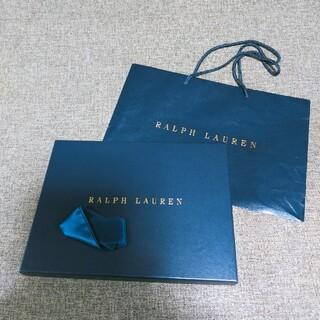 ラルフローレン(Ralph Lauren)のRalph Lauren ラルフローレン ギフトボックス ショップ袋 リボン (ショップ袋)