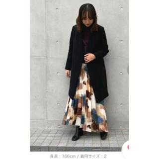 ステュディオス(STUDIOUS)の【UNITED TOKYO】Super140カシミヤ混Vネックノーカラーコート(ロングコート)