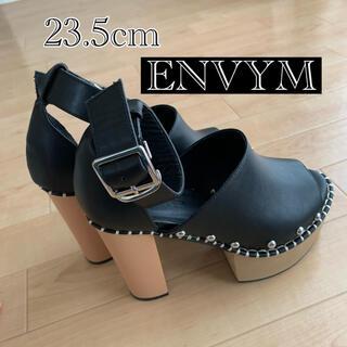 アンビー(ENVYM)の【ENVYM】STITCH SANDALS(サンダル)