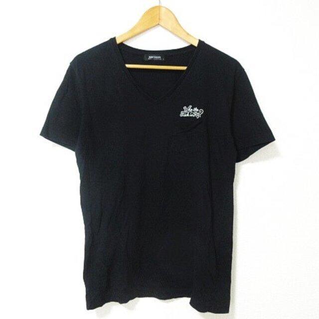 RUDE GALLERY(ルードギャラリー)のRUDE GALLERY Tシャツ カットソー 半袖 Vネック ロゴ 刺繍 4 メンズのトップス(Tシャツ/カットソー(半袖/袖なし))の商品写真