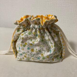 巾着 ハンドメイド(外出用品)