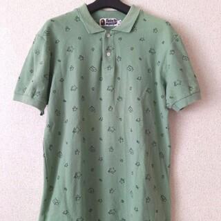 アベイシングエイプ(A BATHING APE)の☆A Bathing Ape ベイプ エイプ ポロシャツ Sサイズ 美品 (ポロシャツ)