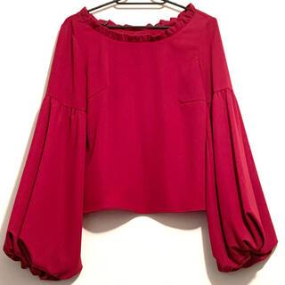アンドクチュール(And Couture)のアンドクチュール ボリューム袖トップス(シャツ/ブラウス(長袖/七分))