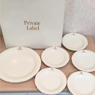 PRIVATE LABEL - 【新品】プライベートレーベルのお皿6枚セット♡♡