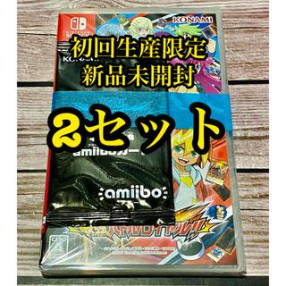 ニンテンドースイッチ(Nintendo Switch)の初回生産限 遊戯王 ラッシュデュエル 最強バトルロイヤル×2(家庭用ゲームソフト)
