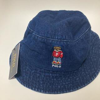 POLO RALPH LAUREN - 【新品タグ付き】ポロベア ハット ラルフローレン バケットハット 帽子 デニム