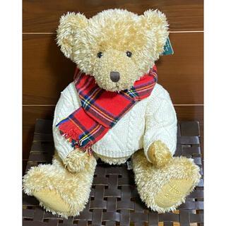 ハロッズ(Harrods)のテディベア Harrods Christmas Bear 2002(ぬいぐるみ)