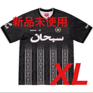 シュプリーム(Supreme)のsupreme Arabic Logo Soccer Jersey XLサイズ(Tシャツ/カットソー(半袖/袖なし))