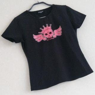 ボーイロンドン(Boy London)のB3 骨 ピンク スカル 当時物 レア 未使用 BOY LONDON Tシャツ(Tシャツ(半袖/袖なし))